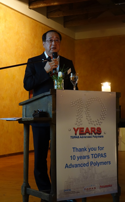 TOPAS Advanced Polymers Celebrates 10th Anniversary | TOPAS